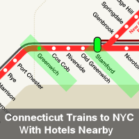 Hotels Near Connecticut Ttrain Stations North of New York City